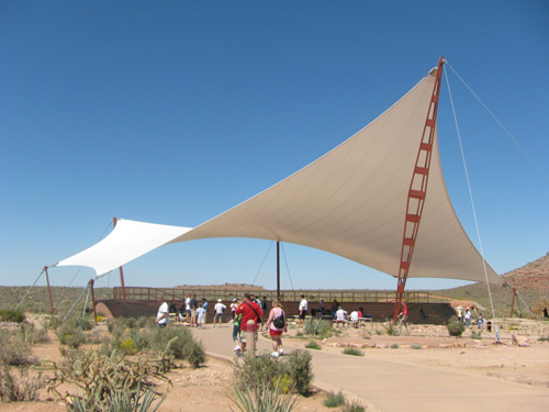 Sail shades shade sails los angeles california and las for Sun shade structure